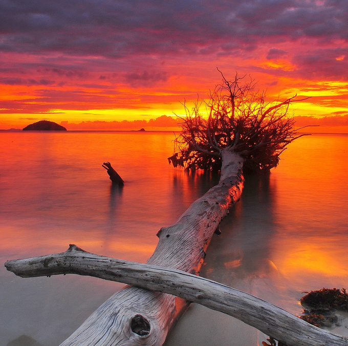 Sunset Borneo